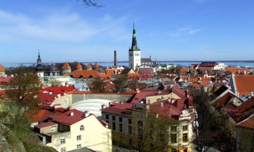 Zdjęcie ESTONIA / Tallinn / Tallinn / panorama Tallina