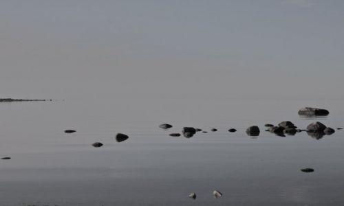 Zdjecie ESTONIA / Północny / półwysep / kamienie