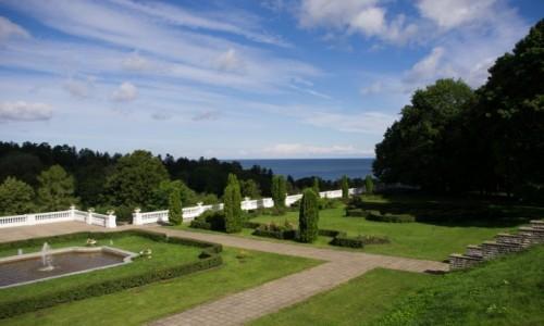 Zdjecie ESTONIA / p�nocno-wschodnia Estonia / Toila / Park z widokiem