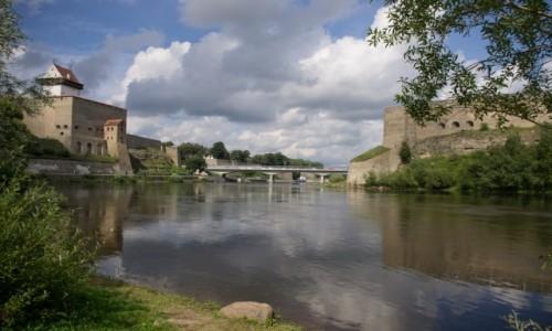 Zdjęcie ESTONIA / - / Narva / Tu się kończy Unia Europejska