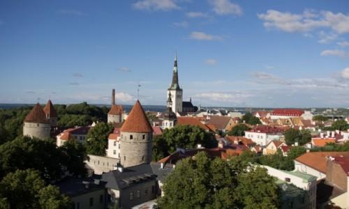 ESTONIA / - / Tallin / Kiedyś najwyższy kościół w Europie