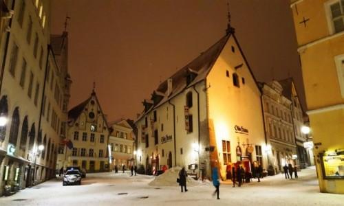 ESTONIA / Harjumaa / Tallinn / Na starym mieście