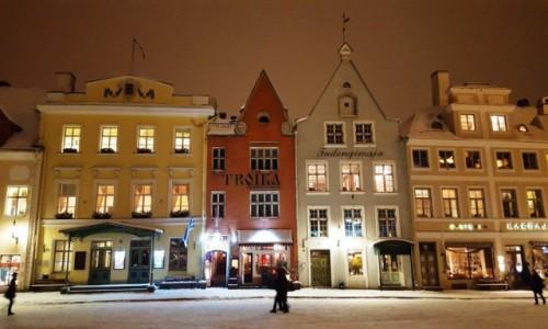 Zdjęcie ESTONIA / Harjumaa / Tallinn / Kamieniczki Tallinna