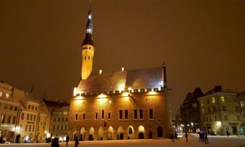 Zdjęcie ESTONIA / Harjumaa / Tallinn / Tallinn Town Hall