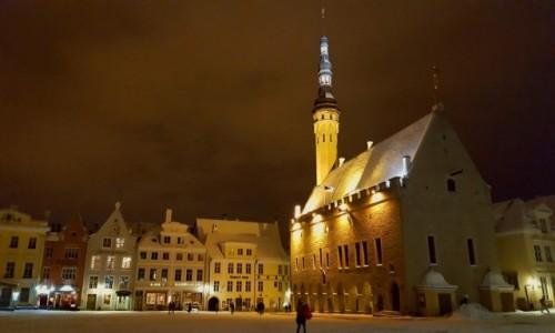 ESTONIA / Harjumaa / Tallinn / Zimowy Tallinn