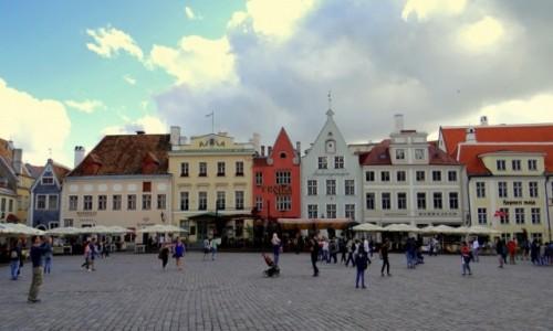 ESTONIA / Harjumaa / Tallinn / Plac Ratuszowy