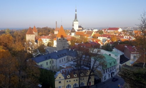 ESTONIA / Harjumaa / Tallinn / Popołudnie na Starym Mieście