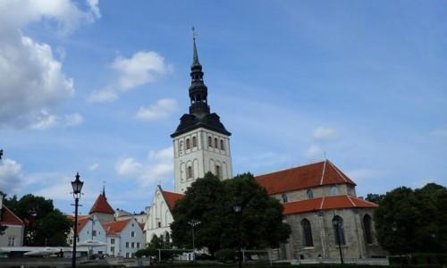 Zdjecie ESTONIA / - / Tallinn / Kościół św. Mikołaja w Tallinnie