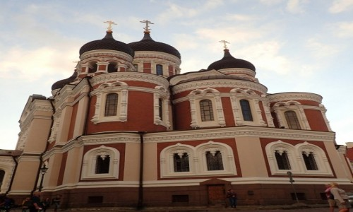 Zdjecie ESTONIA / - / Tallinn / Sobór św Aleksandra Newskiego