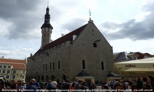 Zdjęcie ESTONIA / - / Tallinn / Ratusz Tallinn
