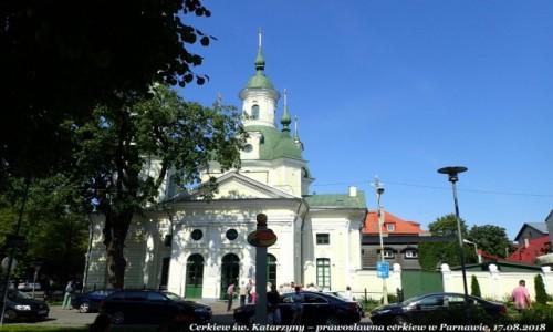 Zdjecie ESTONIA / prowincja Parnu / Parnawa (est. Parnu) / Cerkiew św Katarzyny