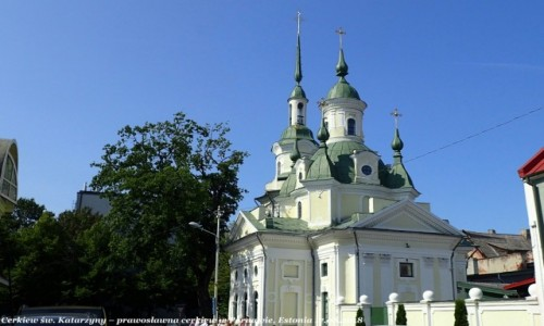 Zdjęcie ESTONIA / prowincja Parnu / Parnawa (est. Parnu) / Cerkiew św Katarzyny