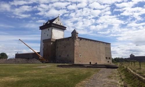 Zdjecie ESTONIA / Wironia Wschodnia / Narwa / Zamek Hermana w Narwie