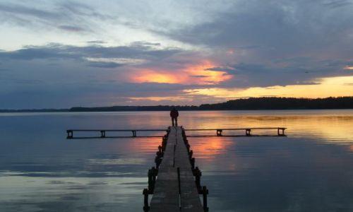 Zdjecie ESTONIA / brak / nad jeziorem / Późne zachody