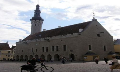 Zdjecie ESTONIA / Tallin / Tallin / Ratusz stolicy Estonii