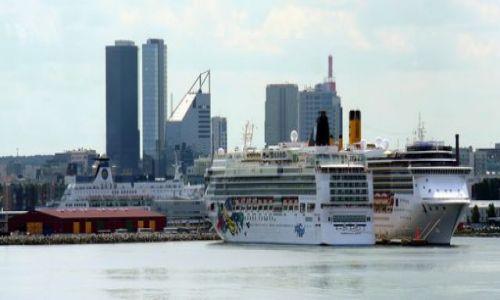 ESTONIA / brak / Tallin / Port w Tallinie