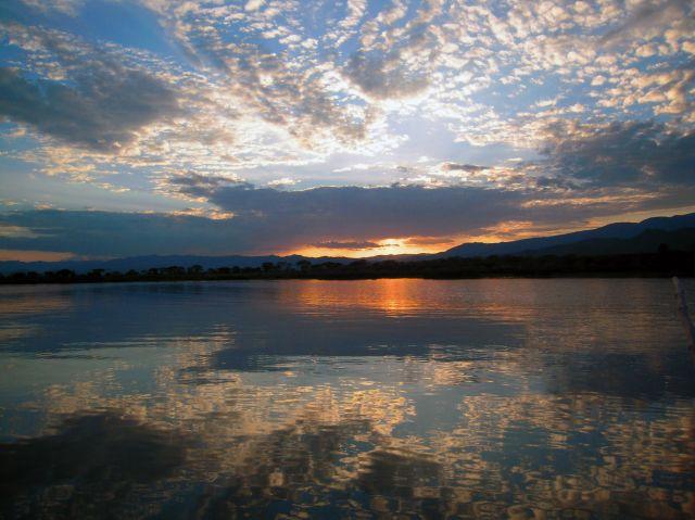 Zdjęcia: Jez. Chamo, Park Narodowy Nechisar , Pd. Etiopia, okoloce Arba Minch, Nad Jeziorem Chamo , ETIOPIA