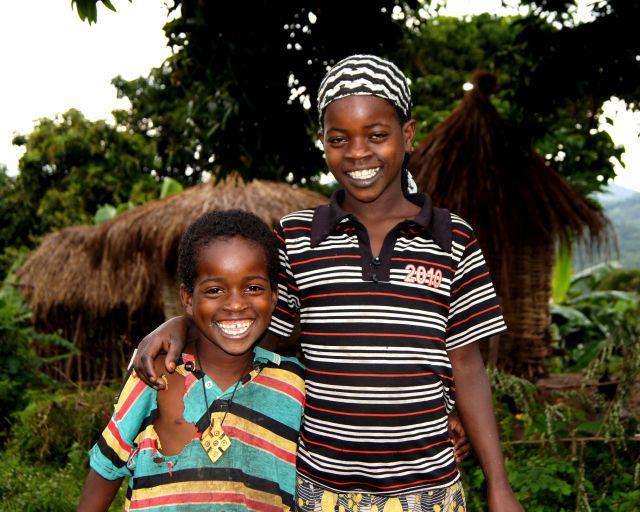 Zdjęcia: Dżinka, Omo, Uśmiechy, ETIOPIA