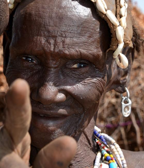 Zdjęcia: wioska Karo, Dolina Omo, Wojownik Karo, ETIOPIA