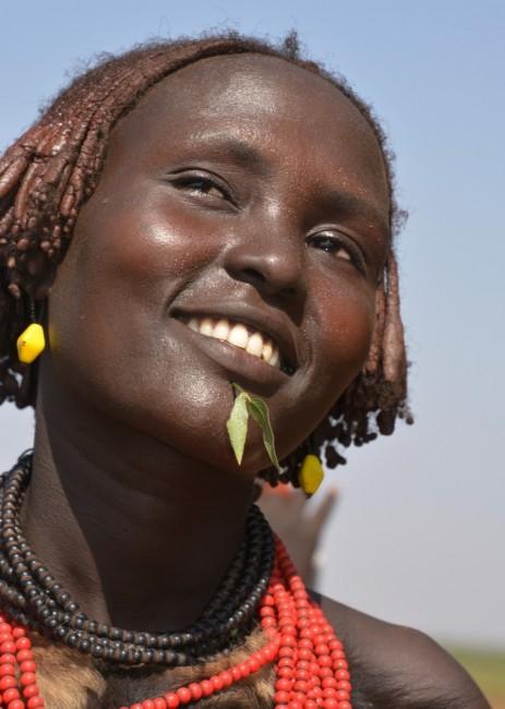 Zdjęcia: gdzieś blisko Omorate, Dolina Omo, Z Danasechów, ETIOPIA