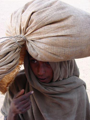 Zdj�cia: Gonder, Twarze Etiopii, ETIOPIA