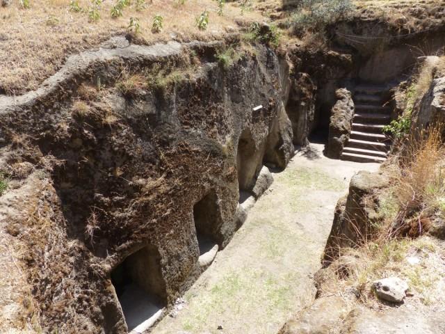 Zdjęcia: CENTRALNA ETIOPIA, CENTRALNA ETIOPIA, Adadi Marjam - kościół skalny, ETIOPIA