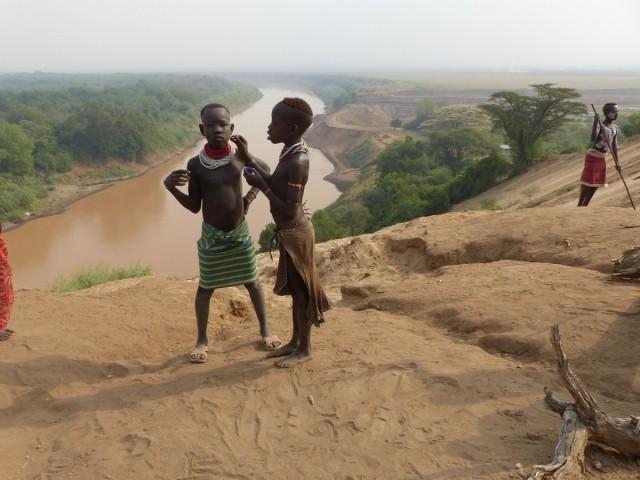 Zdjęcia: WIOSKA KARO, Dolina Omo, WIOSKA KARO, ETIOPIA