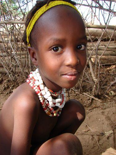 Zdj�cia: Omo Rate , Etiopia Po�udniowa, Twarze Etiopii  - plemie Galeb, ETIOPIA