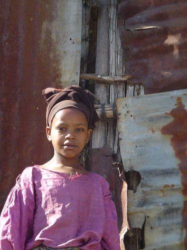 Zdjęcia: Addis Abeba, Portret Etiopki, ETIOPIA