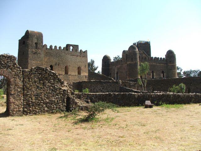 Zdj�cia: Gonder, Afryka�ski Camelot- pa�ac Fasilasa, ETIOPIA