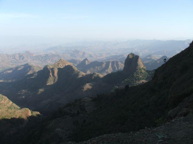 Zdj�cia: Siemens Mountains, G�ry Siemens, Ksi�ycowa panorama, ETIOPIA