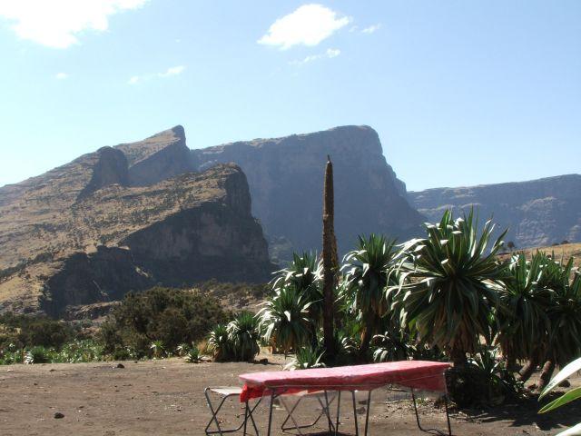 Zdjęcia: Siemen Mountains, Góry Siemen, Drugi obóz, ETIOPIA