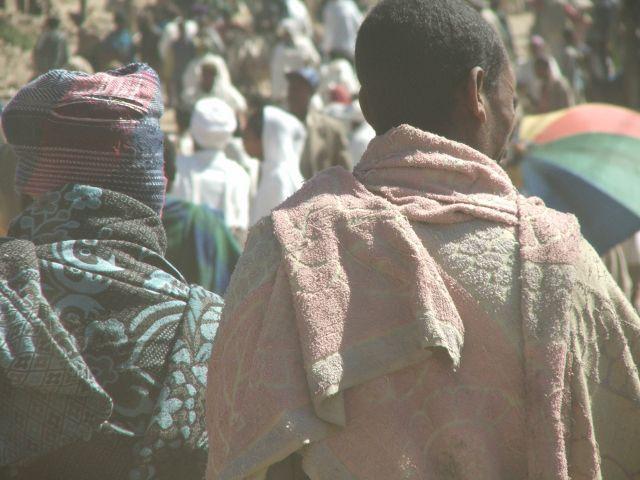 Zdjęcia: Dabar, Dabar, Tłum wszędzie, ETIOPIA