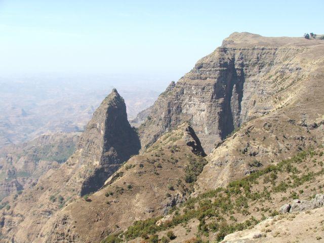 Zdj�cia: g�ry Siemen, Siemen Mountais, Panorama Siemen, ETIOPIA