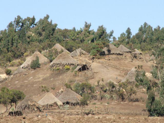 Zdjęcia: w górach Siemen, Siemen Mountains, Gdzieś w górach, ETIOPIA