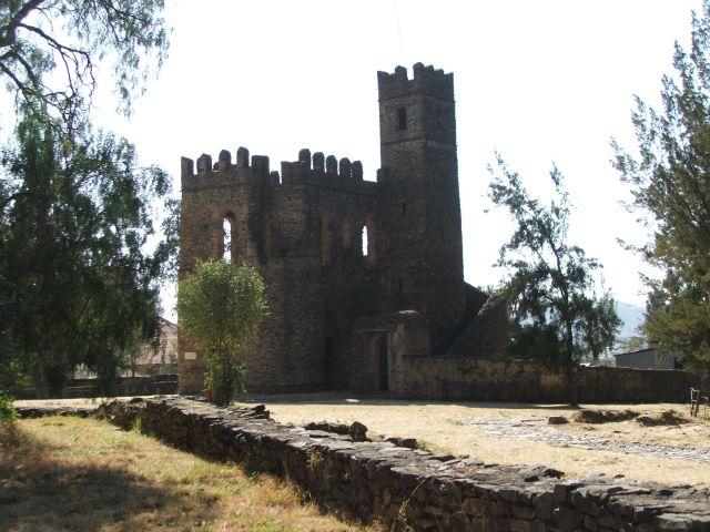 Zdjęcia: Gonder, Gonder, Pałac Fasiladasa, ETIOPIA