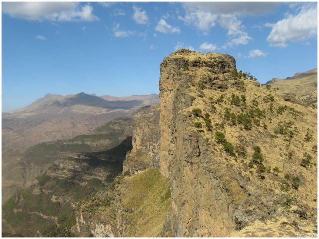 Zdjęcia: Siemen Mts, Siemen Mts, Skały i urwiska Siemen Mts, ETIOPIA