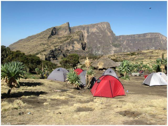 Zdjęcia: Siemen Mts, Siemen Mts, Wreszcie w bazie..., ETIOPIA