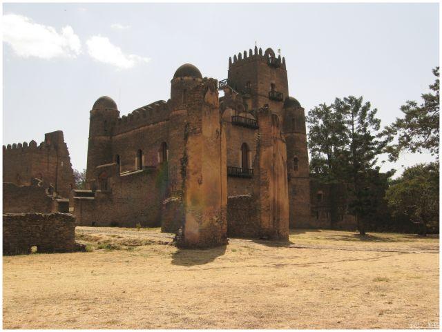 Zdjęcia: Gondar/Gonder, Etiopia Północna, Zamek cesarza Fasilidesa (1633-1667), ETIOPIA