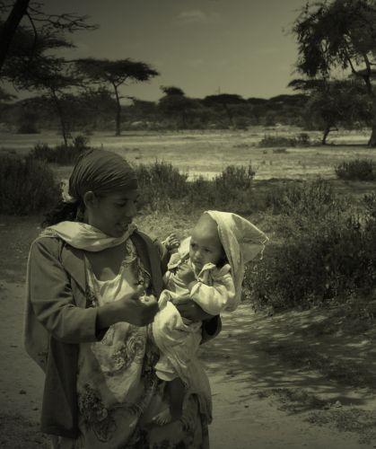 Zdjęcia:  napotkana po drodze , środkowa Etiopia, biblijne skojarzenia z Etiopii, ETIOPIA