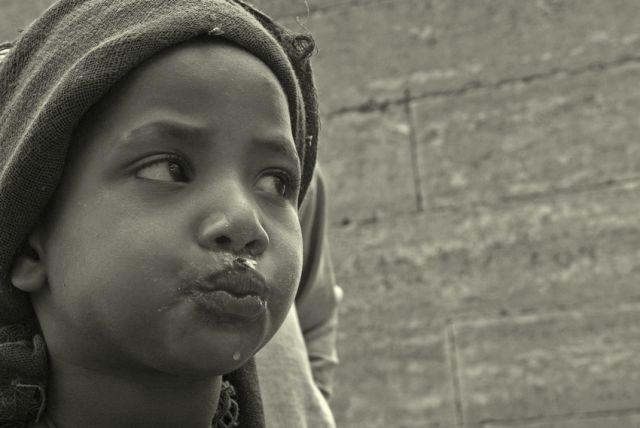 Zdjęcia: wioska , pólnoc w okolicach gór Simen , ***, ETIOPIA