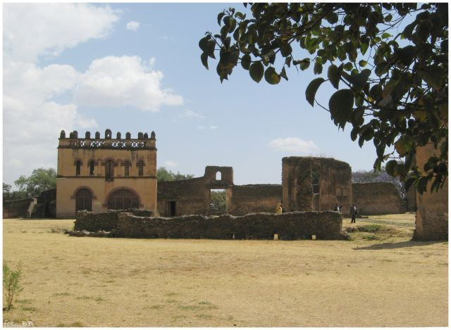 Zdj�cia: Gondar/Gonder, Etiopia P�nocna, Gondar - zesp� pa�acowy, ETIOPIA