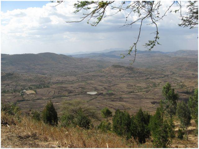 Zdj�cia: W drodze do Awash, Etiopia �rodkowa, Krajobraz Etiopii �rodkowej, ETIOPIA