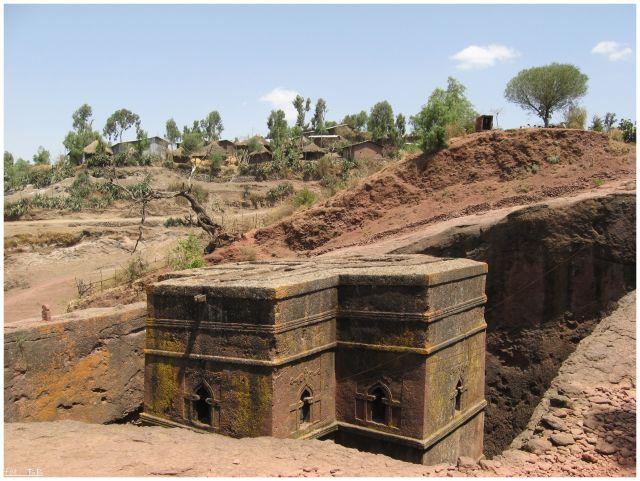 Zdjęcia: Lalibela, Lalibela, Bet Giorgis, ETIOPIA