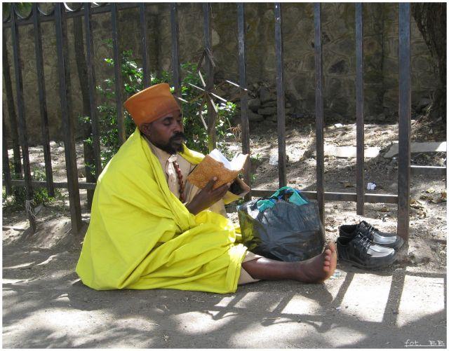 Zdjęcia: AA, Addis Abeba, Każde miejsce dobre..., ETIOPIA