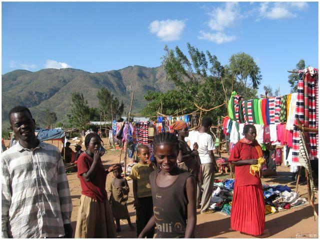 Zdjęcia: gdzieś w okolicach Key Afar - Jinka, Etiopia - południe, Na targowisku, ETIOPIA