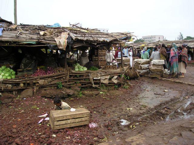 Zdjęcia: Bahar Dar, Targ w Bahar Dar - Etiopia, ETIOPIA