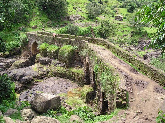 Zdjęcia: etiopia, most z XVII wieku w Etiopii, ETIOPIA