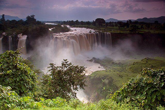 Zdjęcia: okolica Bahir Dar, Amhara, Wodospady Tis Isat, ETIOPIA