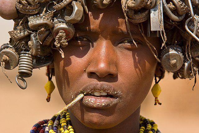 Zdjęcia: Dolina Omo, Ja teraz to mam tyle na głowie.... ;-), ETIOPIA